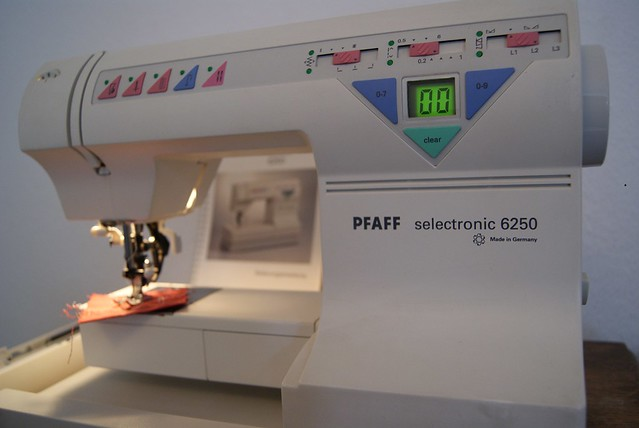 Pfaff 6250 Selectronic Instruction Manual