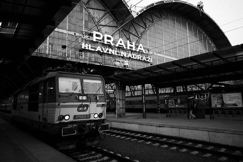 Praha, Central Railway station