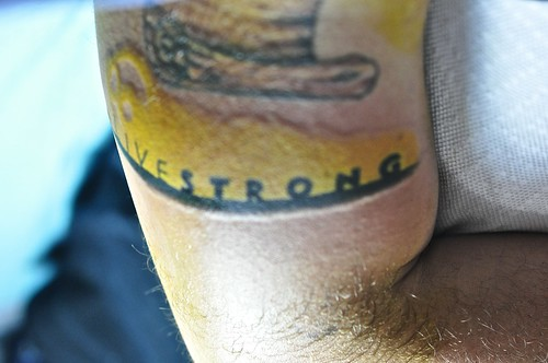 Finished Product - @LiveStrong Tattoo