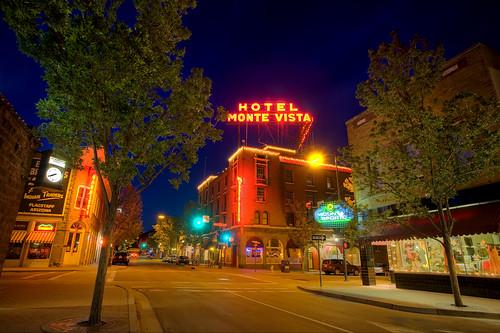arizona hotel route66 downtown historic flagstaff hdr montevista sanfranciscostreet