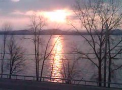 Lake Champlain sunrise