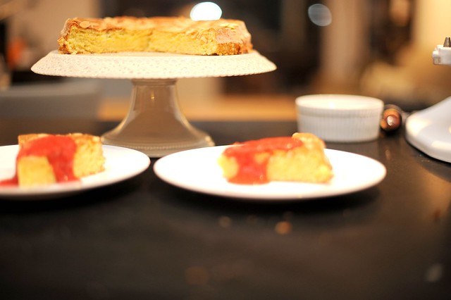 almond-lemon torte with fresh strawberries | Flickr - Photo Sharing!