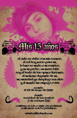 Invitación para Fiesta de 15 años | Flickr - Photo Sharing!