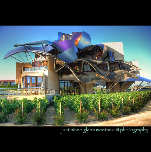 Frank O. Gehry Hotel Marques de Riscal Winery