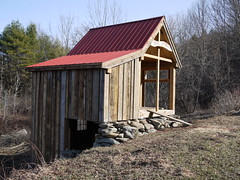 barn, hut, wood, shack, house, outhouse, shed, rural area,