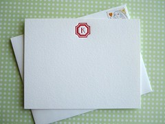 Personalized Note Cards by Missive Press