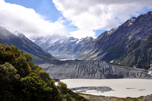 View across the Hooker Valley