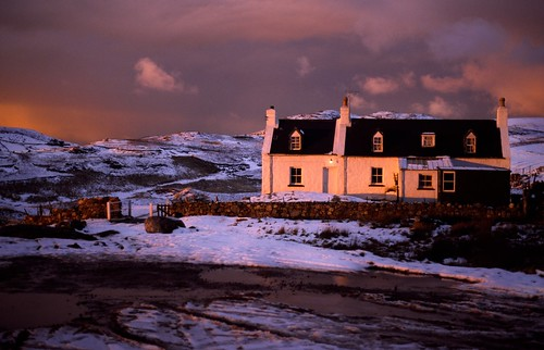 sunset sky snow zeiss landscape scotland dusk places contax hour aria polin flickrcollections