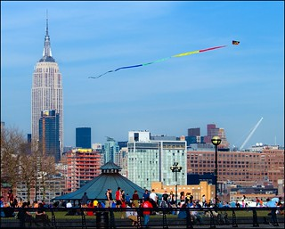 NYC from Hoboken (kite)