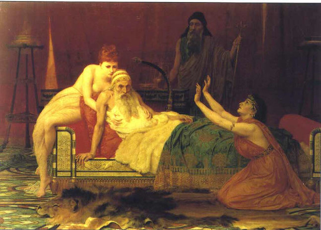 After david dies, his son, 29 year old king solomon begins to