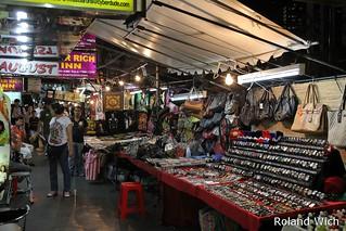 Bangkok - Night Market along Sukhumvit Road
