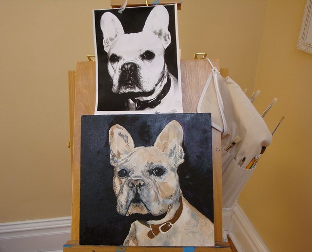Painting of Otis...