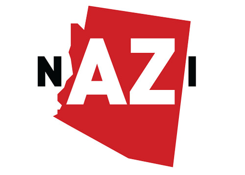 Putting the AZ in nazi.