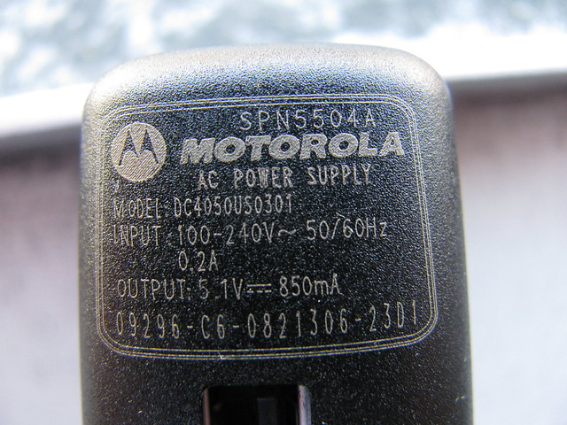 motorola power supply