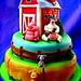 Barnyard Animals cake by The Ladygloom