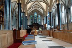 Chancel of The Temple Church, London