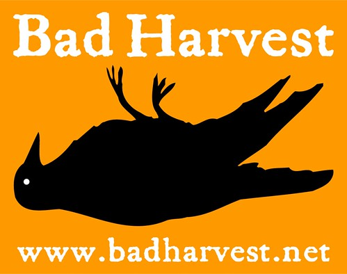 Bad Harvest sticker