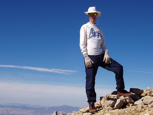 Me on the summit of Box Elder Peak.