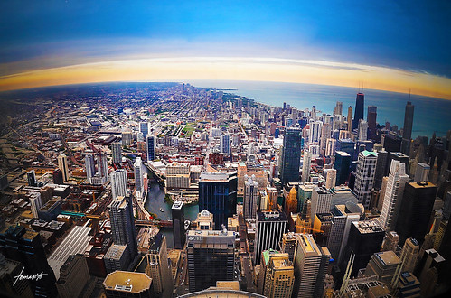 King Of The World! // A View From The Sears Tower