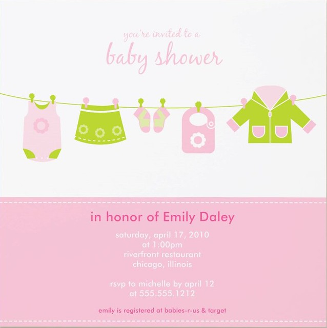 Baby Shower Invitation | Flickr - Photo Sharing!