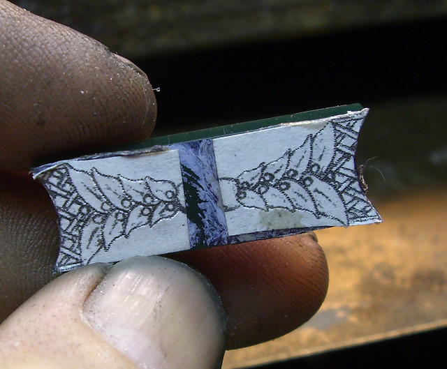 18K Black Opal Pendant / WIP / 7