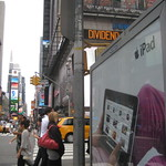 Times Square iPad ad with NPR app