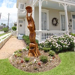 Live Oak Sculpture - Mermaid