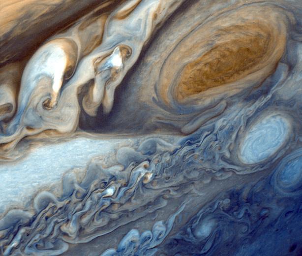 Jupiter Swirls