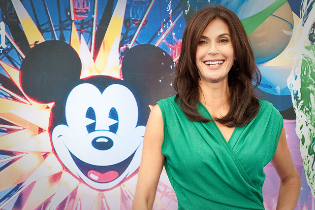 Teri Hatcher- World of Color Premiere - Disney California Adventure Park