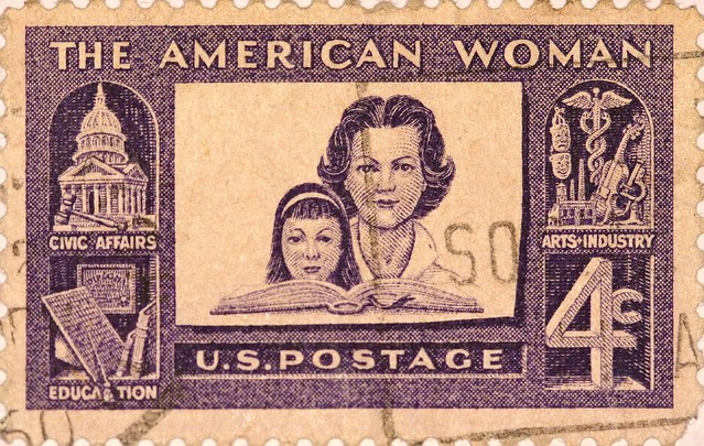 Header of American Woman