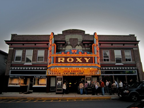 Roxy Theatre Northampton PA - Marquee - Retro Roadmap