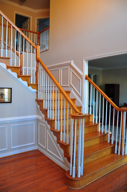 molding for stairs | Flickr - Photo Sharing!