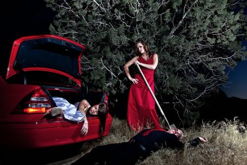 red halloween death mercedes bury prom killer date 24105mm strobist radiopopper 5dmarkii utahstrobist aushel