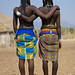 Show us our butts! Mucawana tribe - Angola by Eric Lafforgue