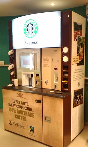 Can A Coffee Maker Left On Start A Fire : Starbucks Joins The Daily Vending Grind