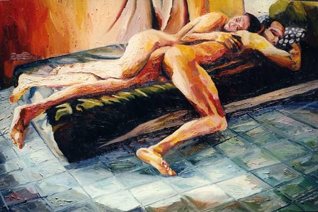 relación hombre mujer amor erótico Pareja hombres desnudos mujeres desnudo ...