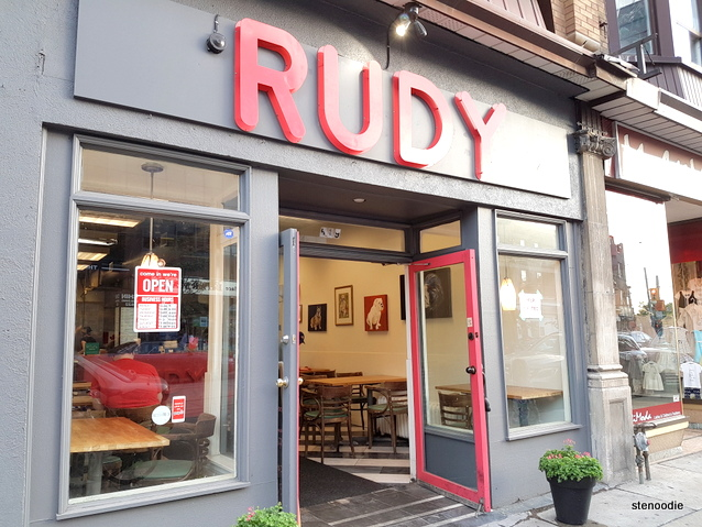 Rudy storefront