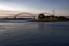 HERNANDO DESOTO BRIDGE AND MUD ISLAND