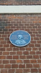 Photo of Anthony Addington and Henry Addington blue plaque