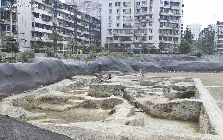 Situs Vihara Fugan, Chengdu, Provinsi Sichuan, Tiongkok, 2 Juni 2017.