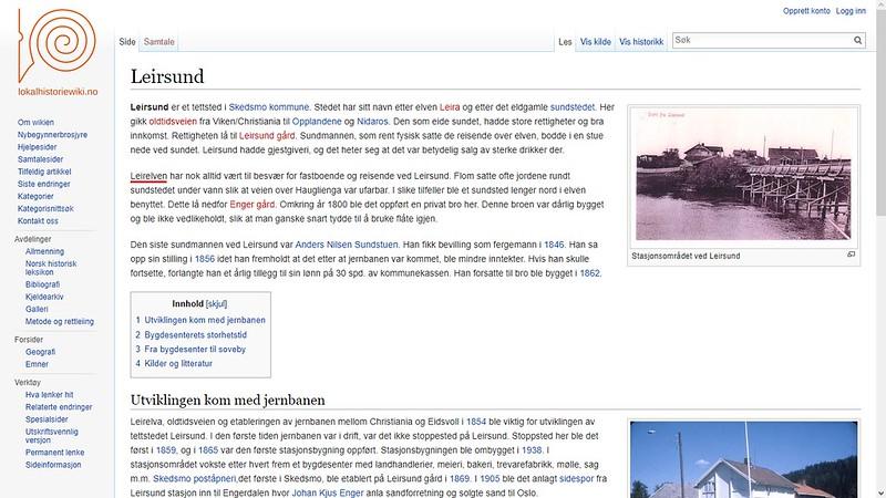 leirelven lokal wiki