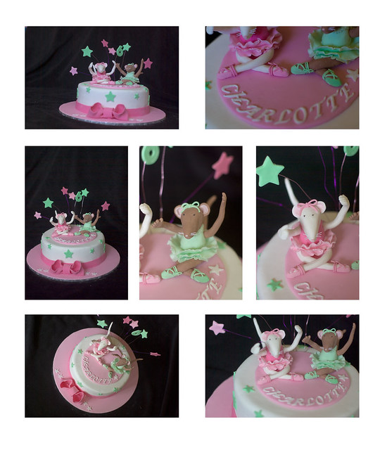 Angelina Ballerina Cake Decorations