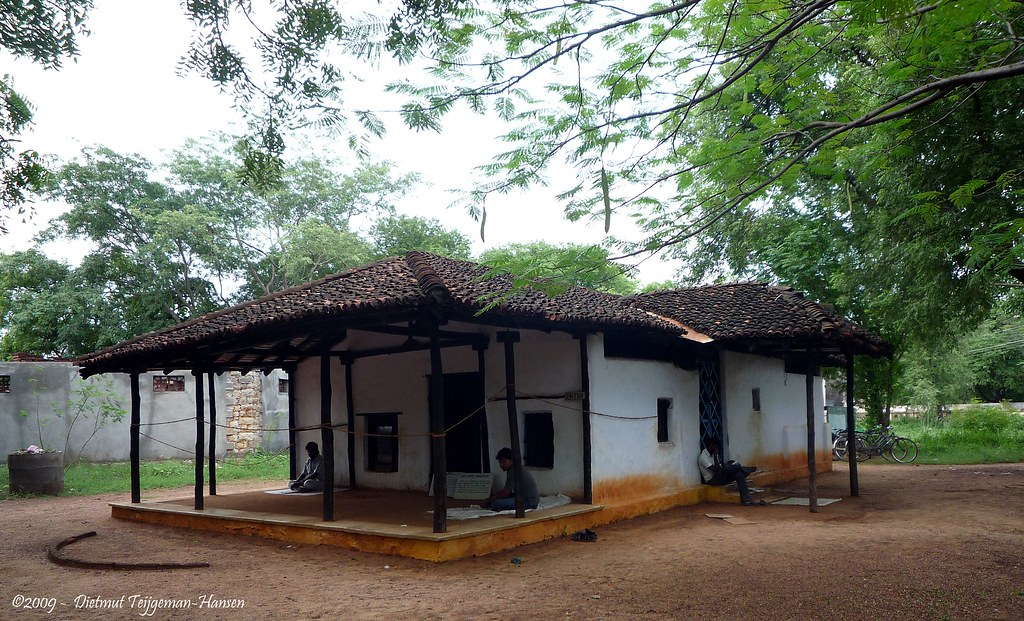 "Ghandi ""kutir"", a replica of Ghandiji's hut in Sevagram"