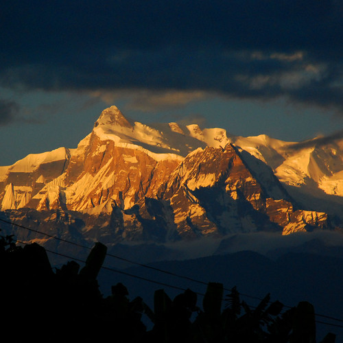 Himalaya as seen from Pokhara