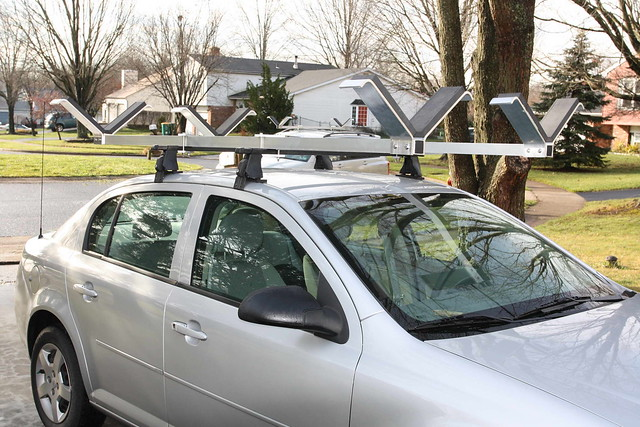Quot V Quot Bars Kayak Roof Racks Flickr Photo Sharing