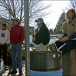 First meeting of Mile High Disc Golf Club during the spring of 2003.