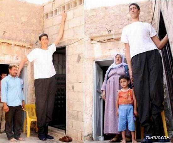 World's Tallest Man Sultan Kosen