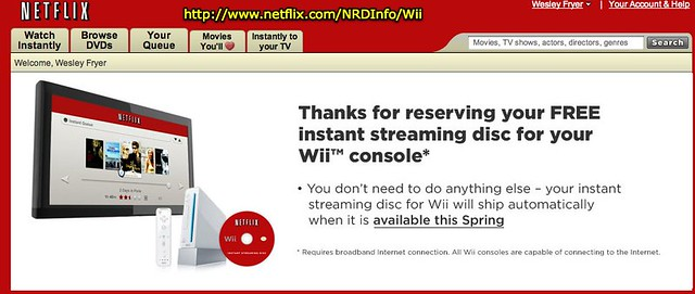 how to watch netflix on wii for free