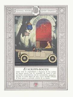 publicidad autos GM en Zig Zag 1910