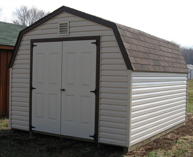 10x12 vinyl mini barn sheds luray va flickr photo for Sheds storage buildings